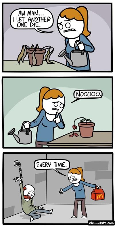 dead plant comic