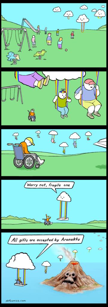 Sad kid comic