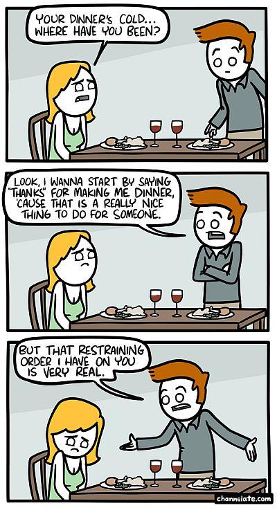 dinner comic