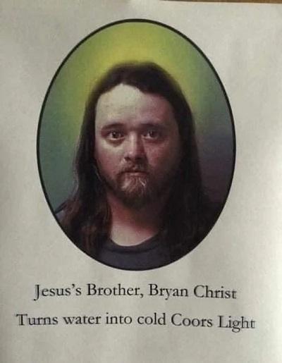 Jesus's Brother Bryan