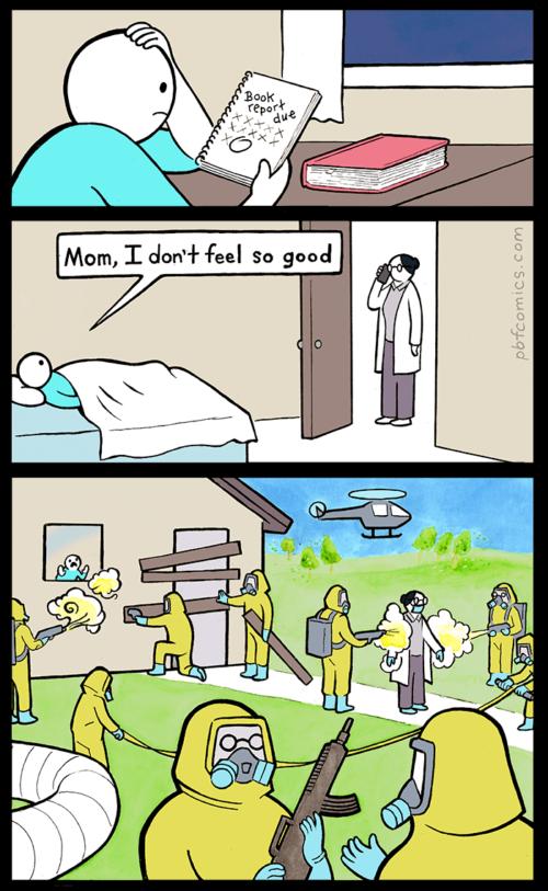 the report comic