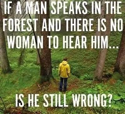 men are always wrong meme