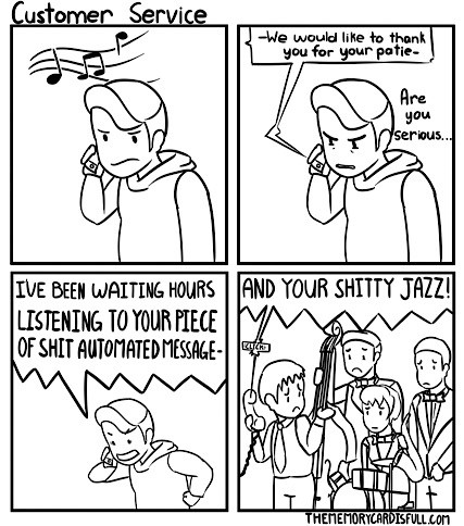 customer service comic