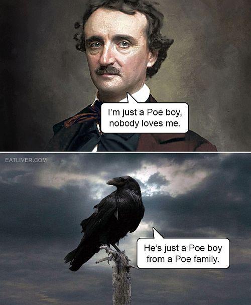 Poe-Queen meme