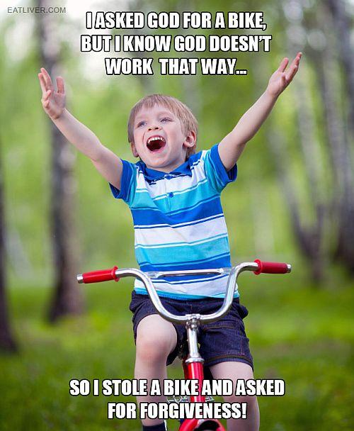 biking meme