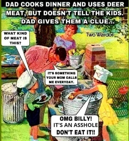 deer meat meme