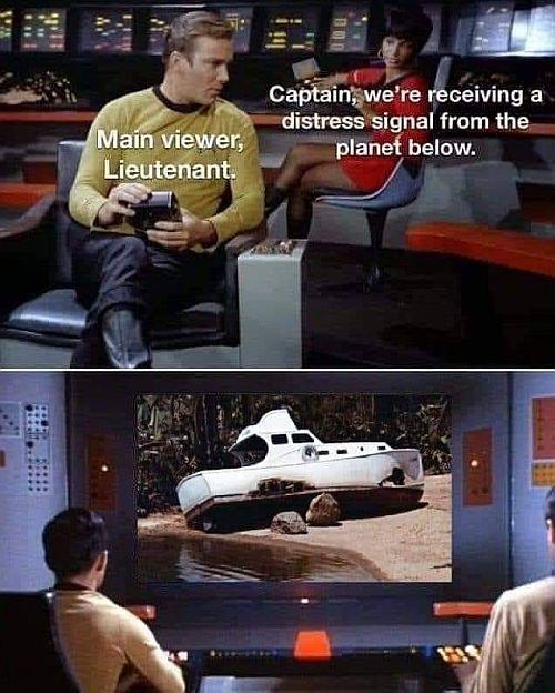 Enterprise distress call meme