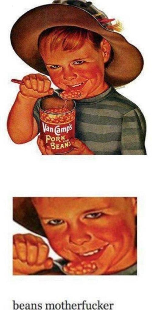 bean meme