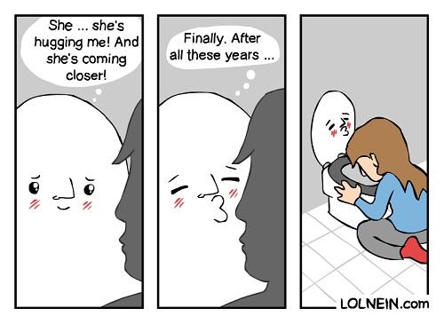 finally a kiss comic
