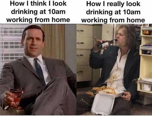 drinking at 10am meme
