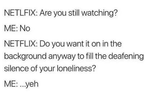 netflix and still meme