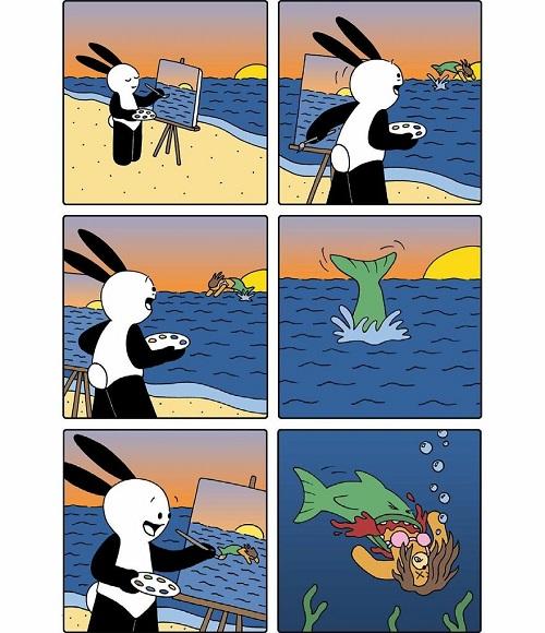 mermaid comic