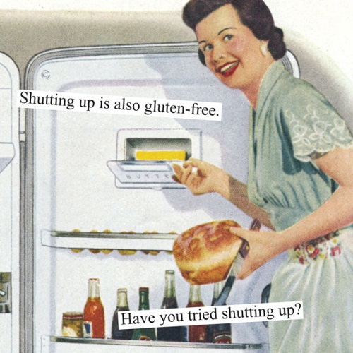 gluten free meme