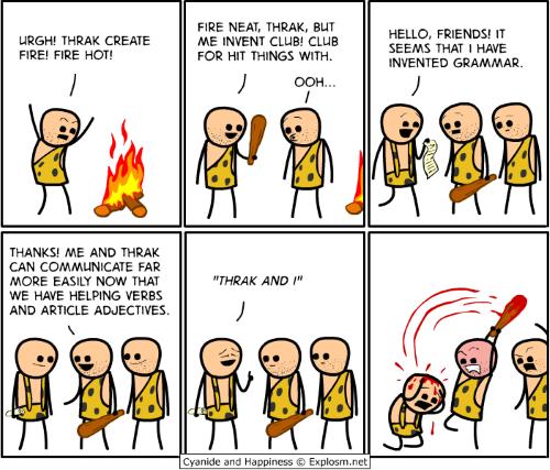 caveman discovery comic