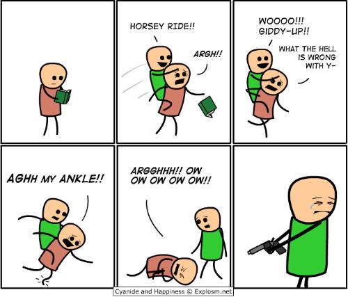 giddyup comic