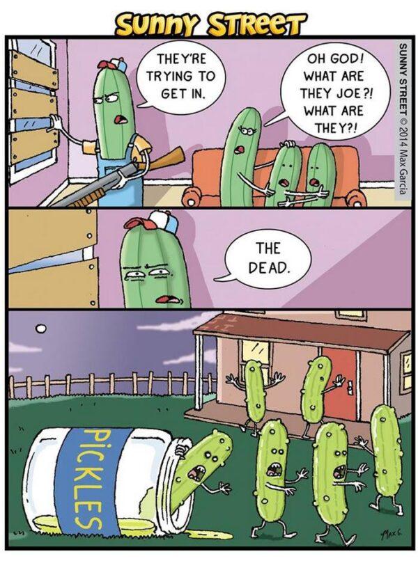 pickle zombie comic