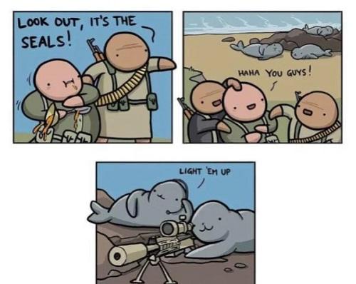 Seals comic
